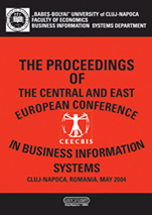 THE PROCEEDINGS OF THE CENTRAL AND EAST EUROPEAN CONFERENCE IN BUSINESS INFORMATION SYSTEMS