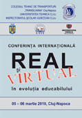 Conferinta internationala Real si virtual in evolutia educabilului