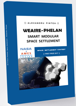 Weaire-Phelan Smart Modular Space Settlement