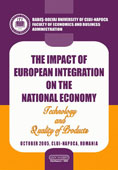 THE IMPACT OF EUROPEAN INTEGRATION ON THE NATIONAL ECONOMY. Technology and Quality of Products