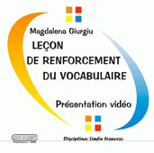 Lecon de renforcement du vocabulaire. Presentation video