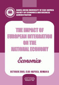 THE IMPACT OF EUROPEAN INTEGRATION ON THE NATIONAL ECONOMY. ECONOMICS