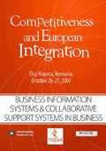 "Business Information Systems & Collaborative Support Systems in Business. The Proceedings of the International Conference ""Competitiveness and European Integration"